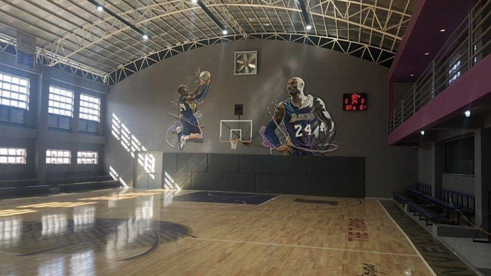 House of Kobe sports hall in Manila, Philippines