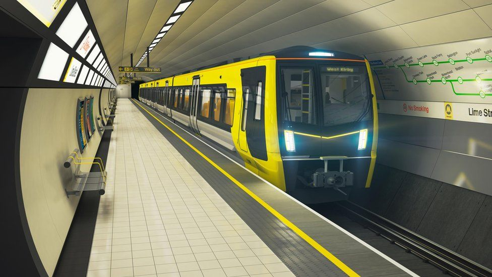 Image of the new train