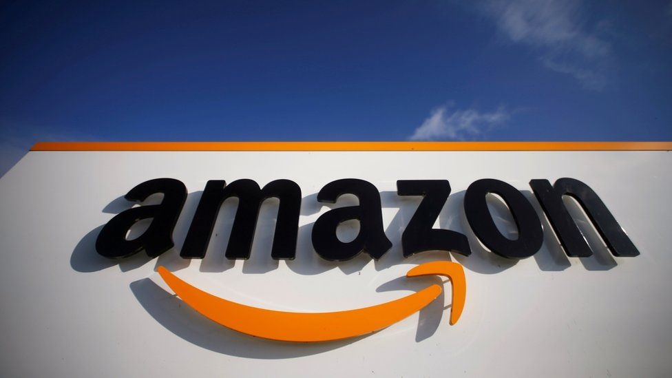 Amazon logistics centre in Lauwin-Planque, northern France