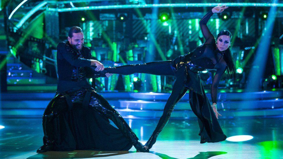 Seann Walsh and Katya Jones on Strictly Come Dancing