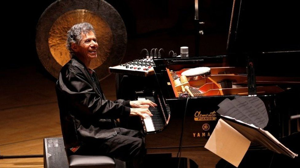 Chick Corea: Tributes paid to jazz 'genius' - BBC News