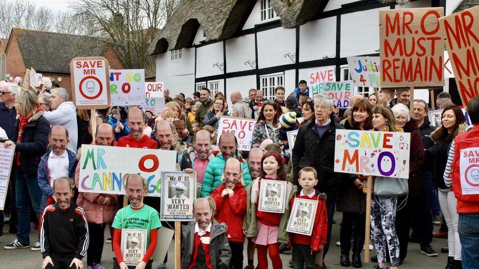 Swinford school protest