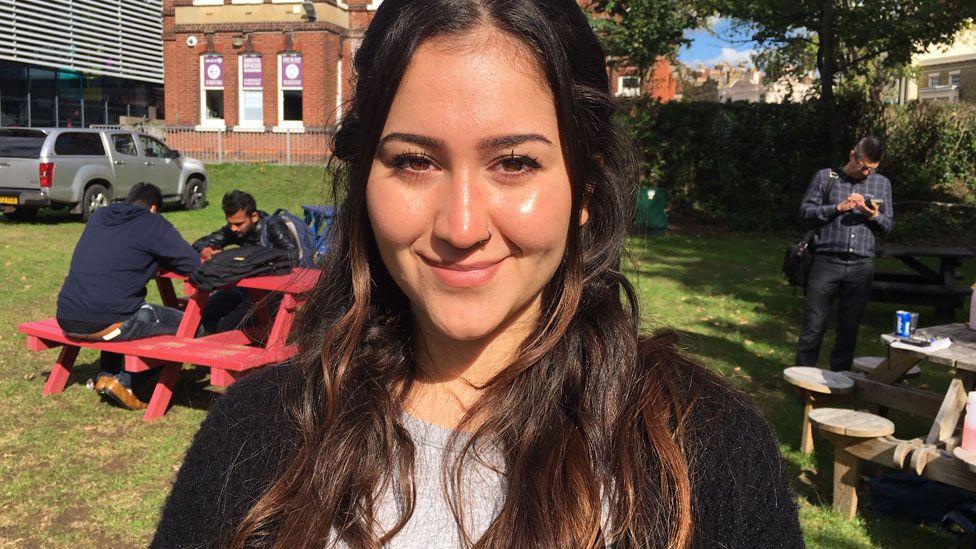 Destiny, student at Portsmouth