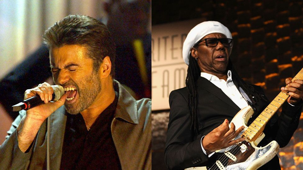 George Michael and Nile Rodgers
