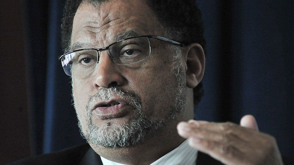 Danny Jordaan talks to the media during a press conference in London, on March 4, 2010