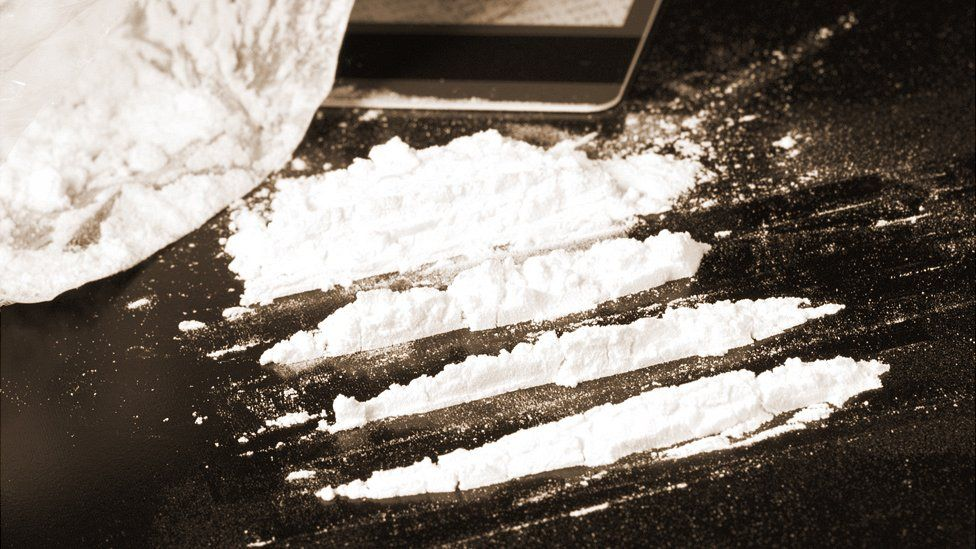 Lines of cocaine, file pic (July 2016)