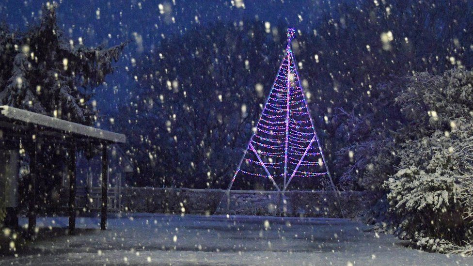 Snow in Braintree
