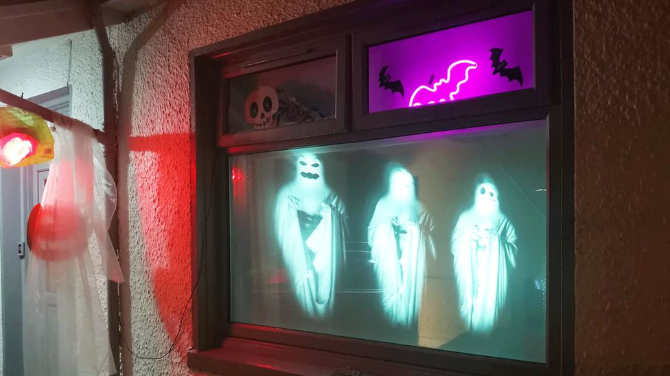 Ghost projection windows