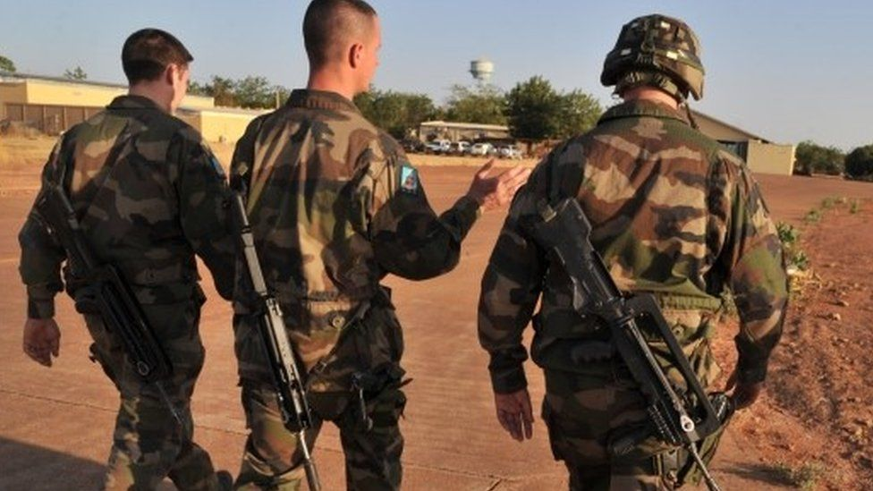 French soldiers in Mali - archive shot