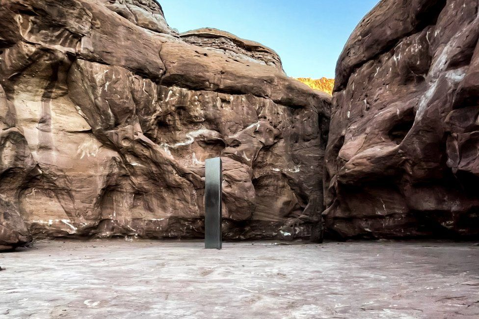 David Surber's picture of the monolith