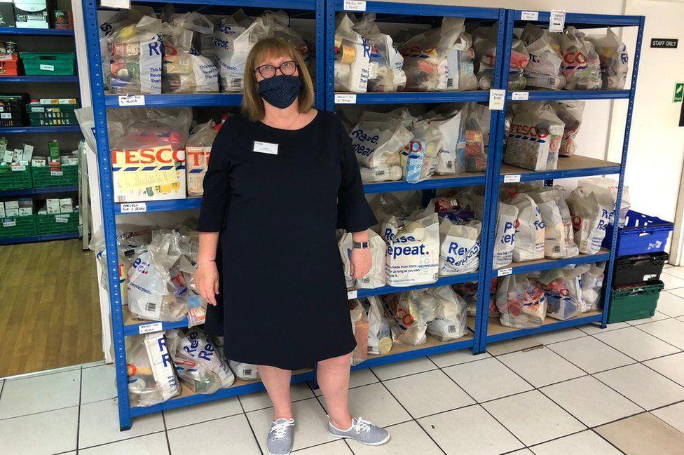 Weston Favell food bank