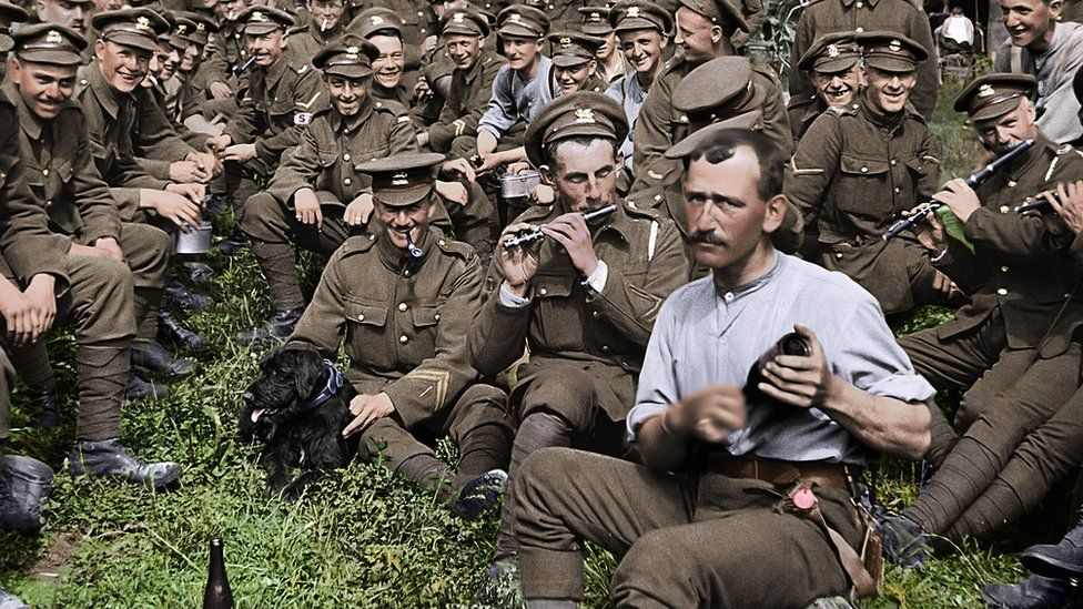 Peter Jackson's film They Shall Not Grow Old