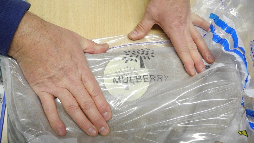 Counterfeit Mulberry bag seized by Trading Standards