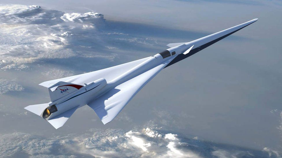 NASA's planned Low Boom Flight Demonstration aircraft