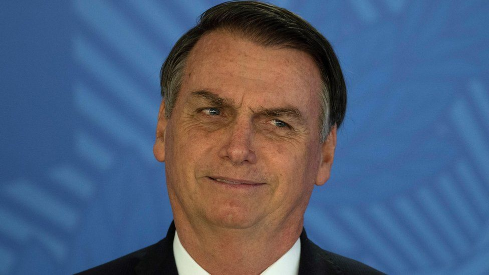 President Jair Bolsonaro Photo Credit: EPA Via: BBC