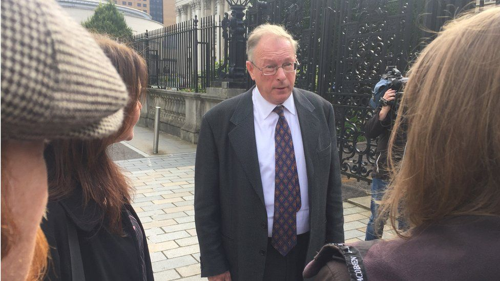 Chris Murphy, seen here at an earlier court appearance, lost his appeal against the judgment made in March