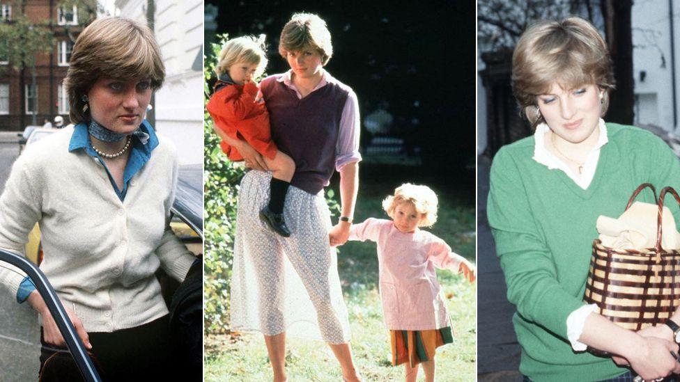Princess Diana and Young England Kindergarten, Princess Diana at Coleherne Court and Diana in Knightsbridge