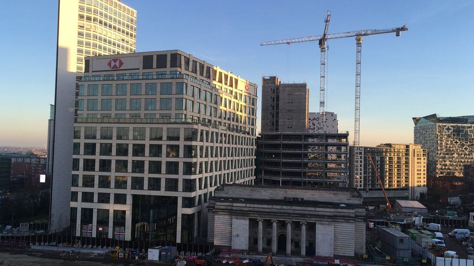 Cranes in Birmingham