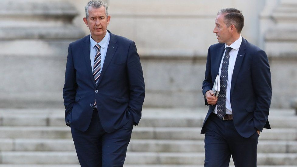 Edwin Poots and Paul Givan