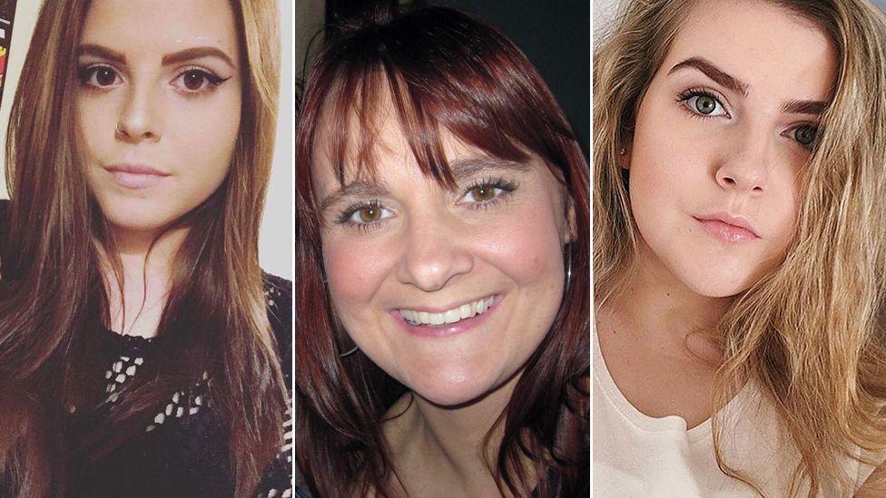 From left: Courtney Boyle, Elaine McIver and Eilidh MacLeod
