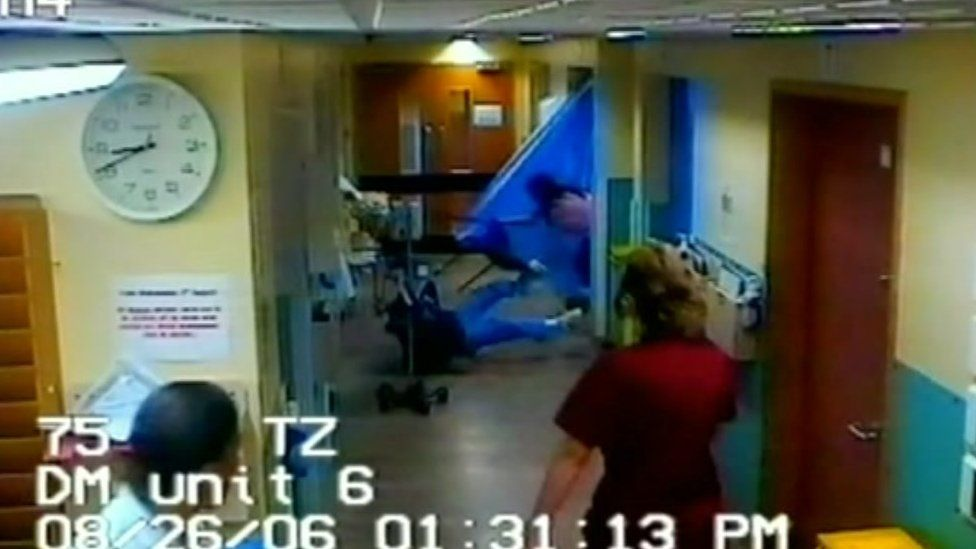 Attack by patient