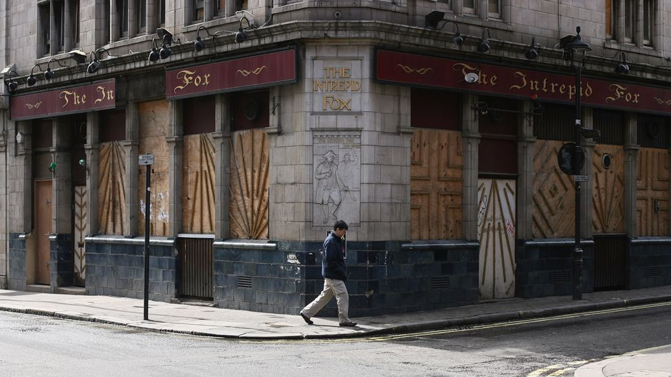 The Intrepid Fox in central London, closed in 2008