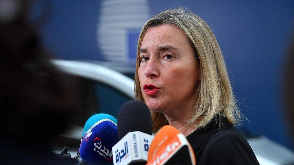 European Union High Representative for Foreign Affairs Federica Mogherini