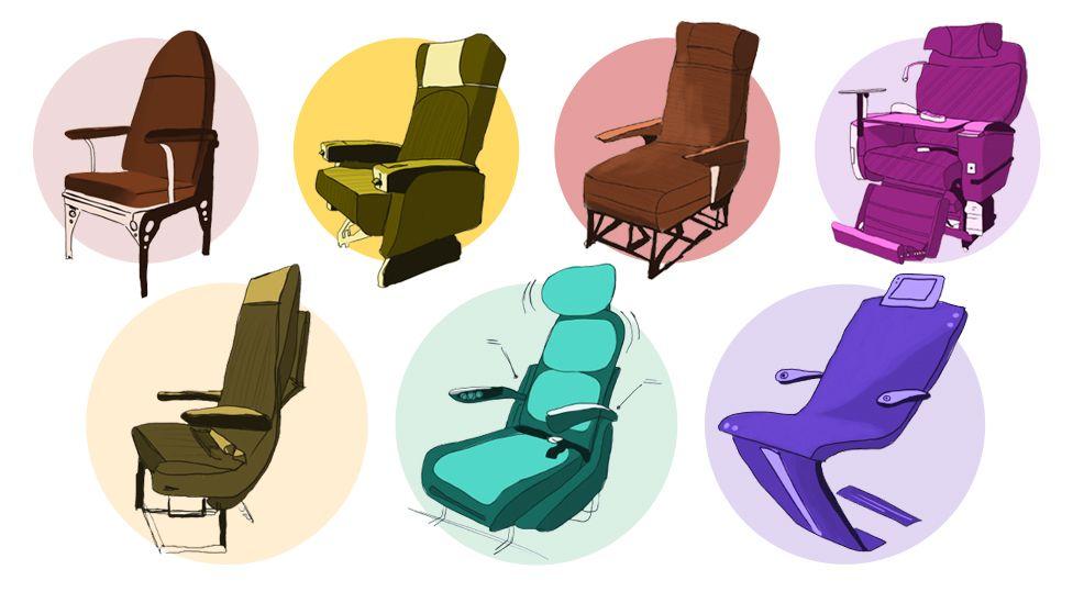 Годы великого сужения: 106 лет эволюции пассажирского кресла