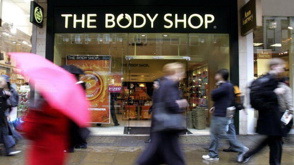 Body Shop exterior