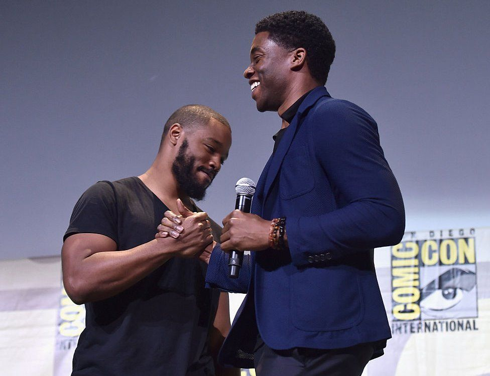 The star and his director at the 2016 Comic-Con in San Diego