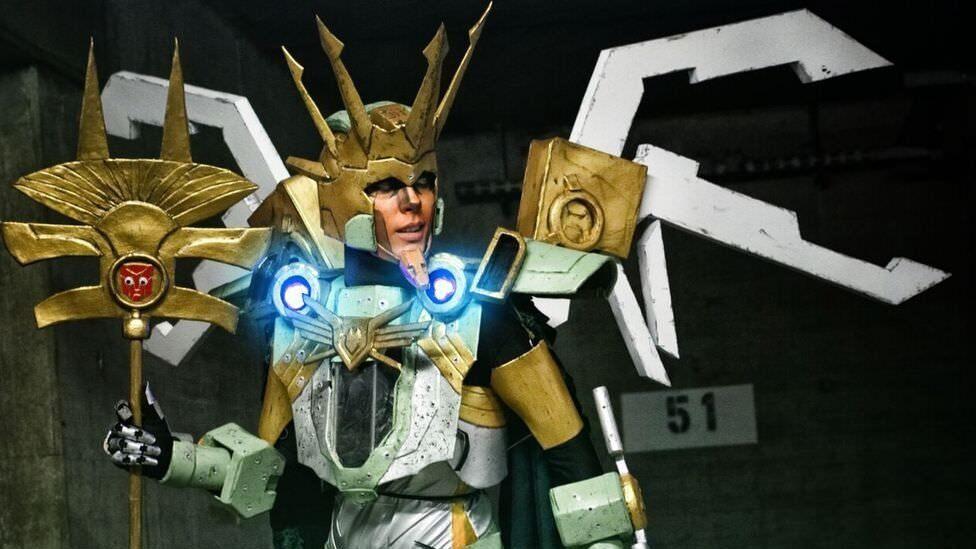 Chaozrael in robot cosplay