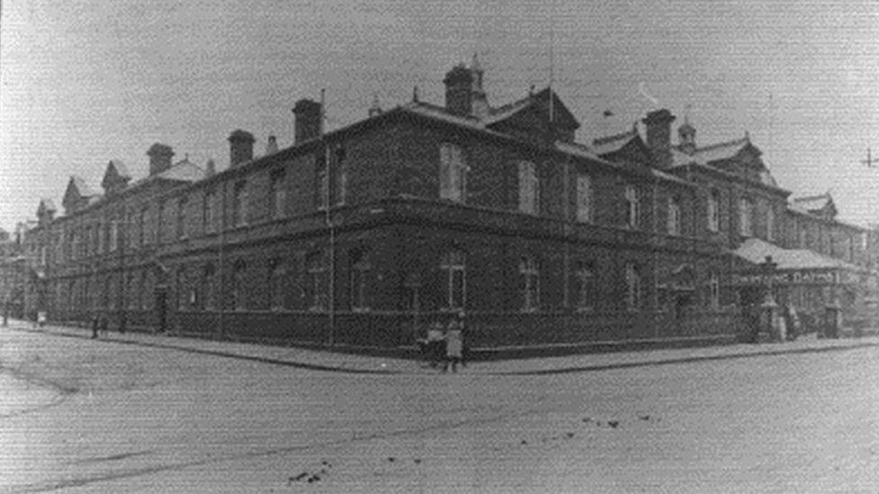 Historic photo of building