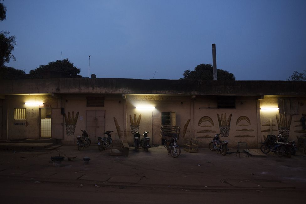 Buru Niouman Bakery in Bamako, Mali in the early morning hours of 5 February 2019.
