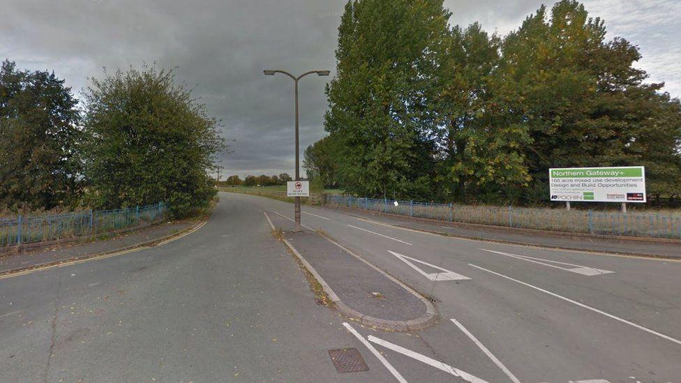 Welsh Road in Garden City