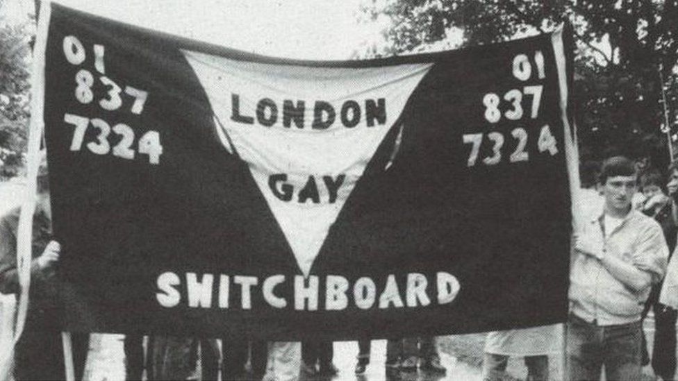 Switchboard at Gay Pride in 1983