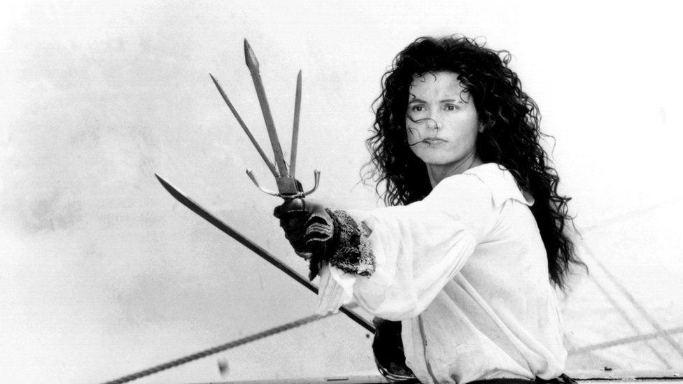 Geena Davis in Cutthroat Island (1995)