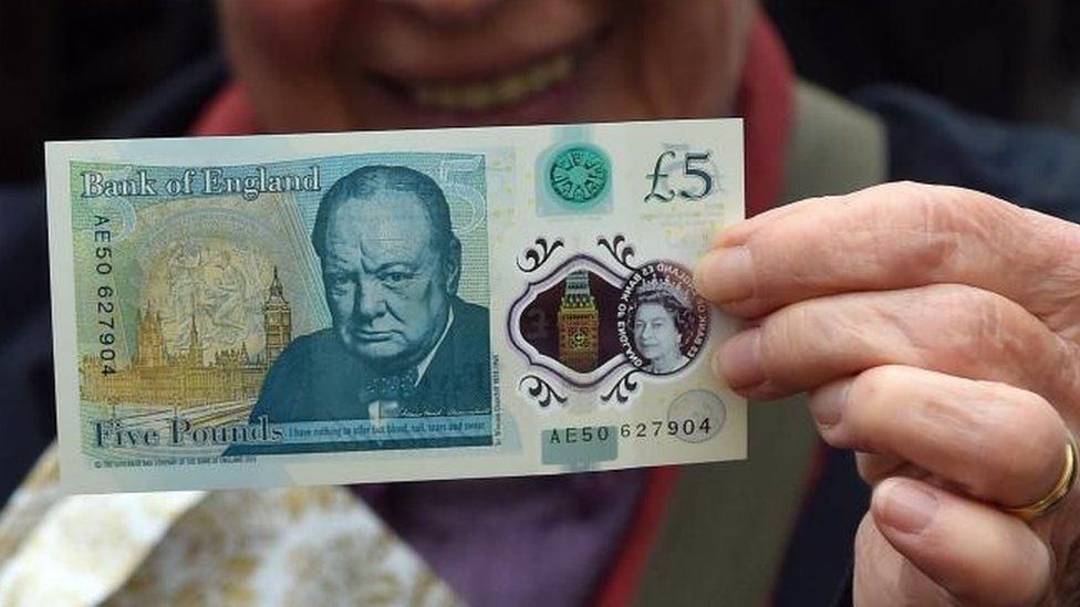 Five pound note