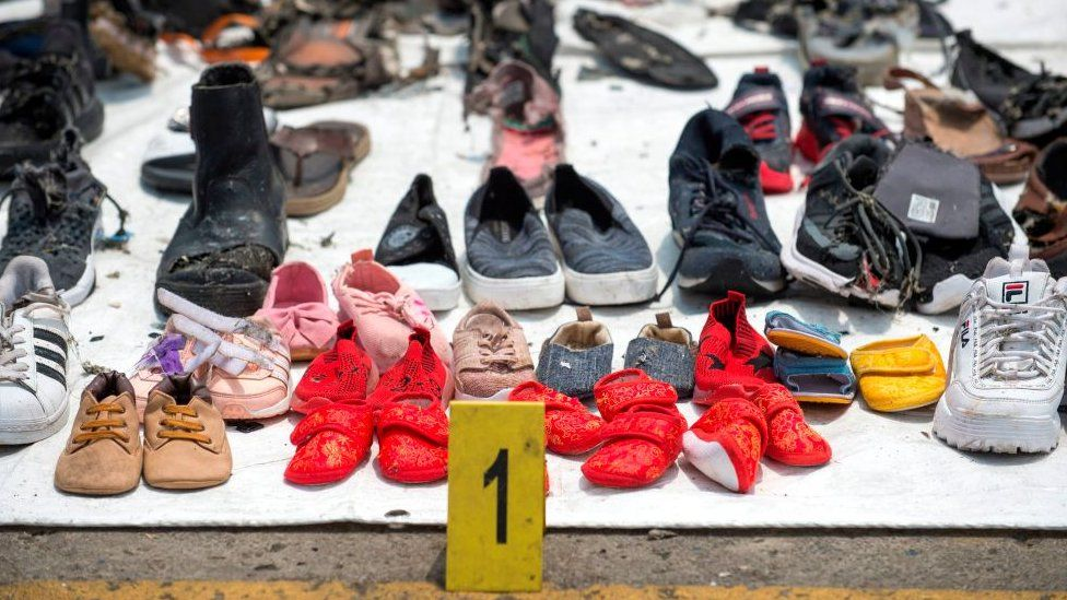 Personal items recovered from the Lion Air crash on 29 October, 2018