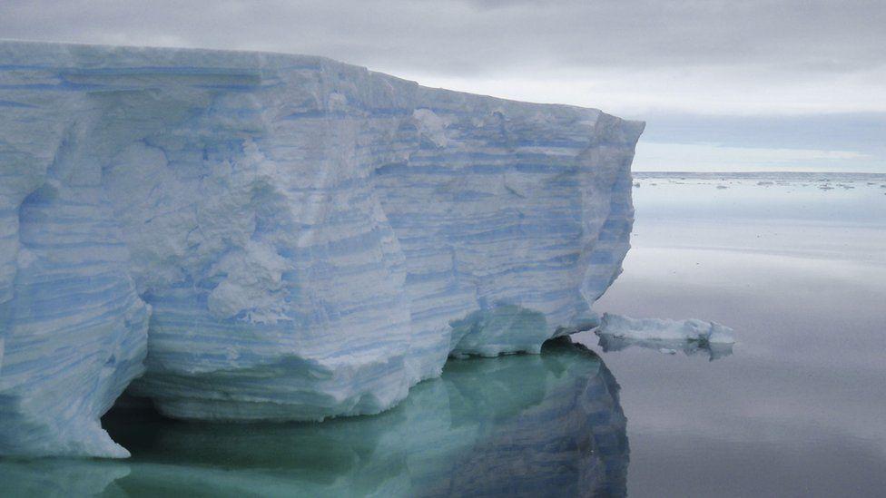 An iceberg in the Amundsen Sea