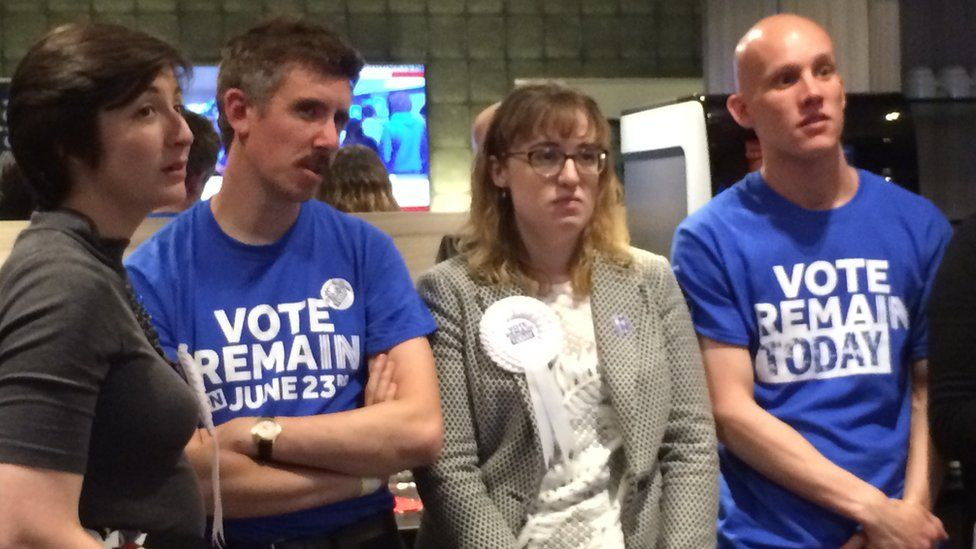 Remain campaigners in Glasgow