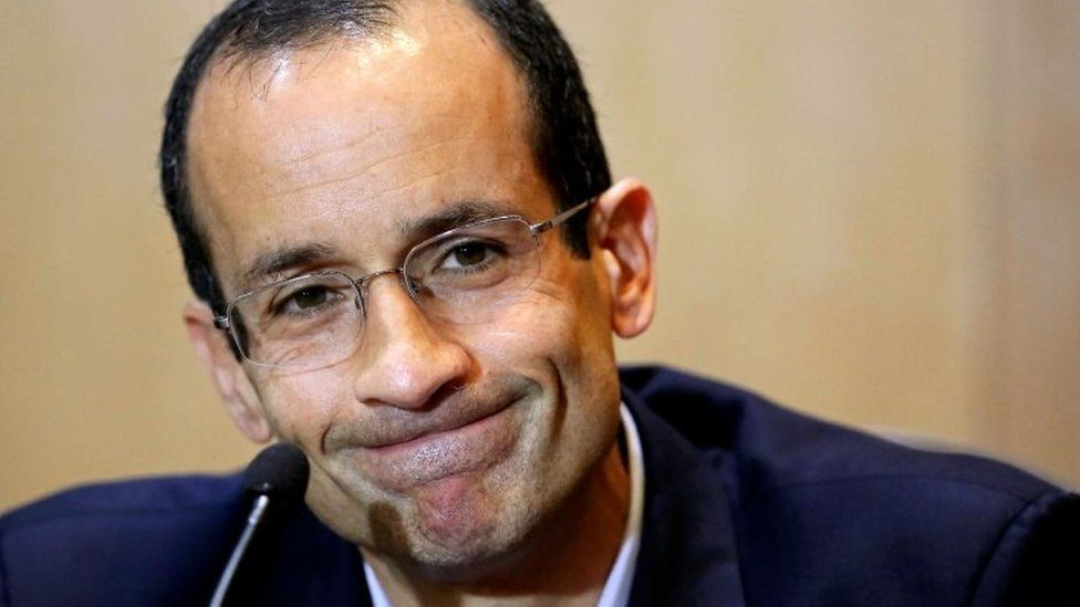Marcelo Odebrecht during a hearing of the parliamentary committee of the Petrobras investigation in Curitiba, Brazil, Sept 2015