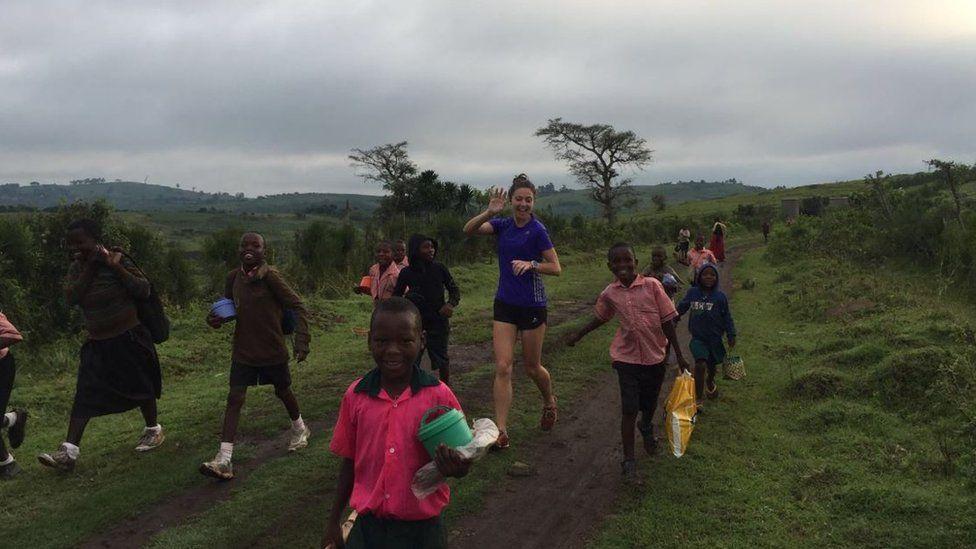 Ellie organises the Running The Rift marathon in Uganda to raise money for charity
