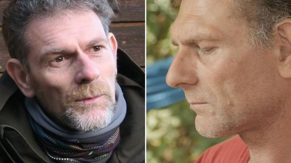 Jos Brech is pictured both in a front-facing photo and in profile