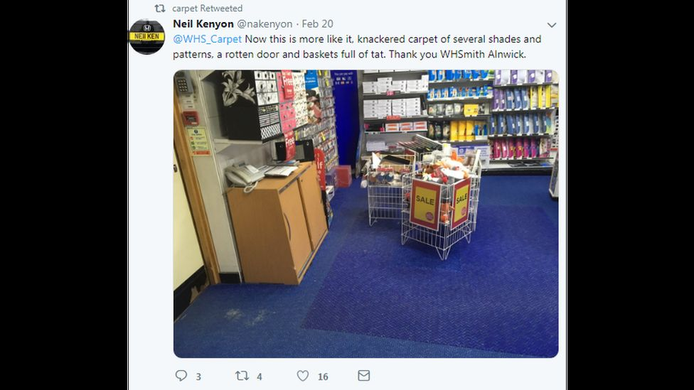 A WH Smith store