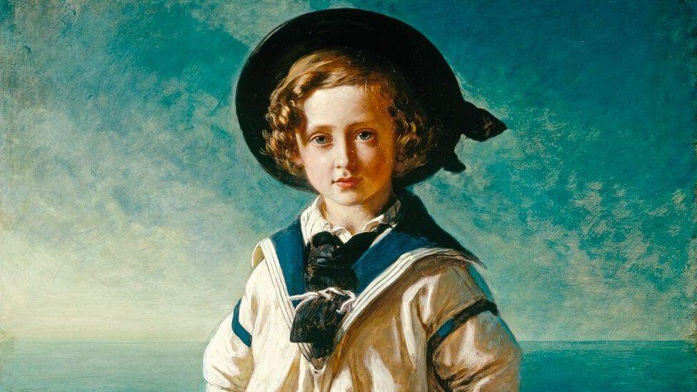 Franz Xaver Winterhalter, King Edward VII when Albert Prince of Wales, 1846.