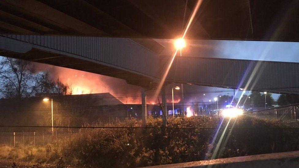 Clydebank fire