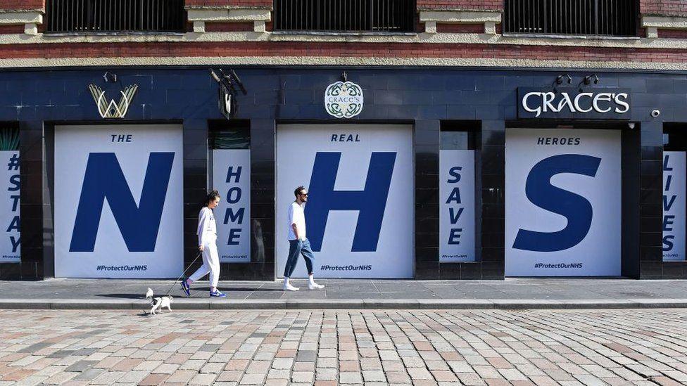 Glasgow NHS sign