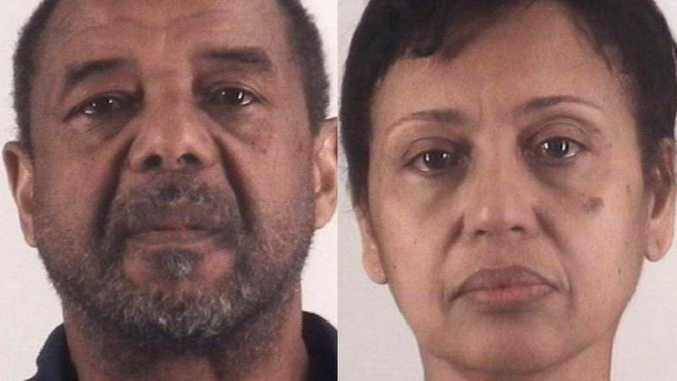 Mohamed and Denise Toure