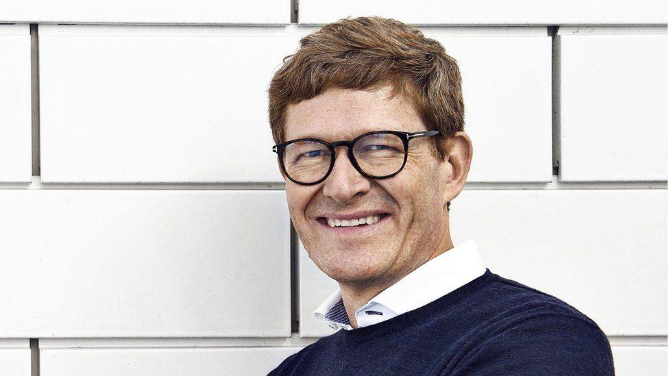 Lego chief executive Niels Christiansen