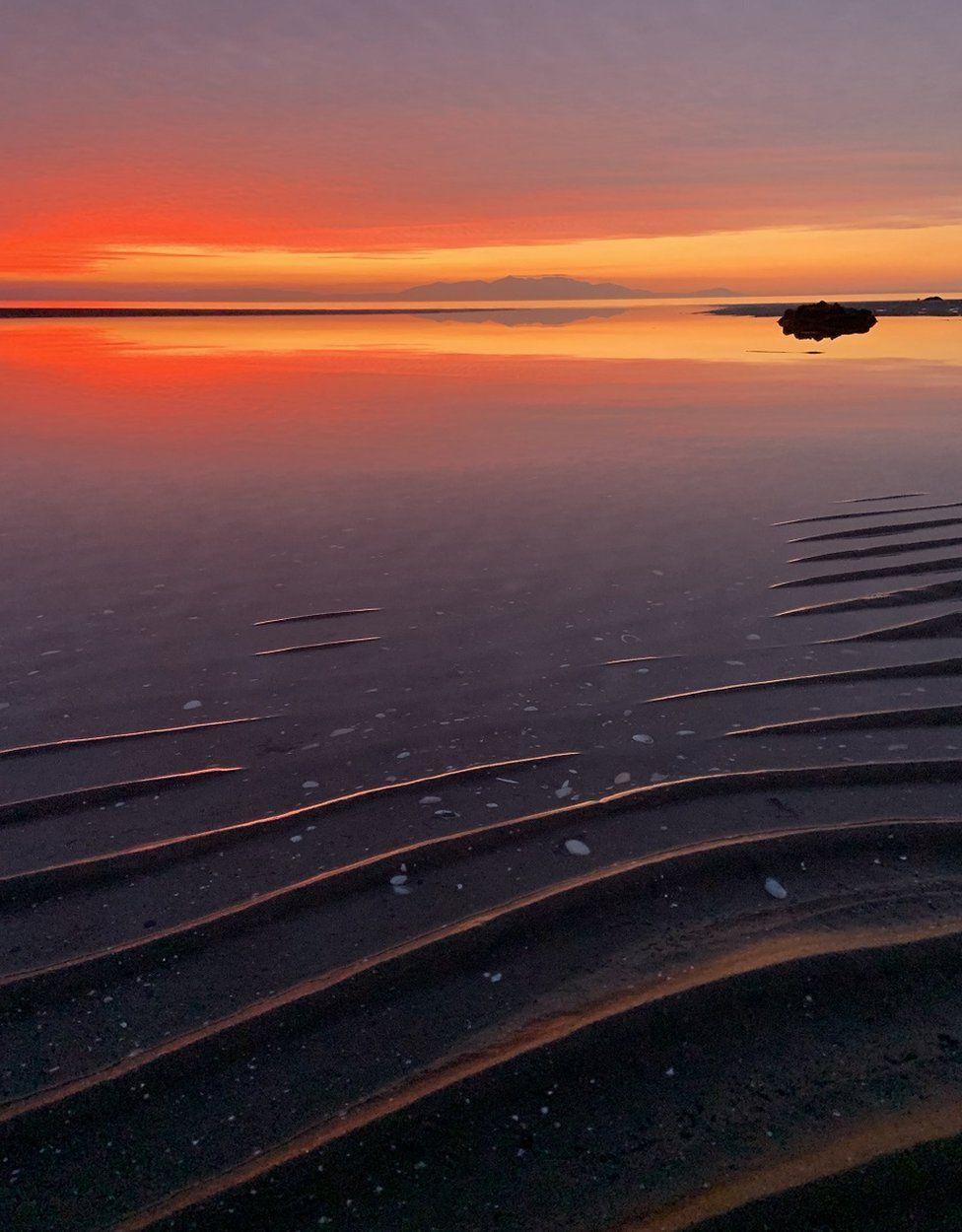 Barassie Beach sunset